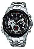Casio Edifice EF-535SP-1AVEF Men's Analog Quartz Watch with Chronograph and Steel Bracelet, Black