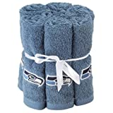 6 Pack ~ NFL Football Seattle Seahawks Washcloth Hand Towel at Amazon.com