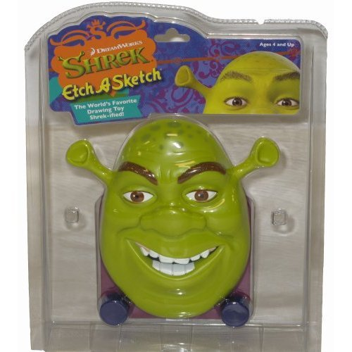 Shrek Etch A Sketch - The World's Favorite Drawing Toy Shrek-ified!