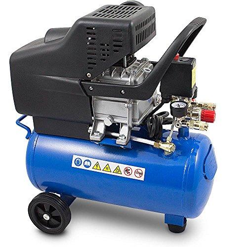 BITUXX-Kompressor-Druckluftkompressor-Druckluftverdichter-24Liter-2PS-Druck-bis-8-Bar