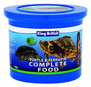 King British Turtle and Terrapin Food 200 g: King British: Amazon.co ...
