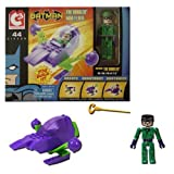 Lego Jakks Pacific Art Asylum C3 Dc Batman The Riddler Mini Flyer 44 Pieces You Build It