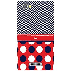 Sony Xperia M - Small Circles Matte Finish Phone Cover
