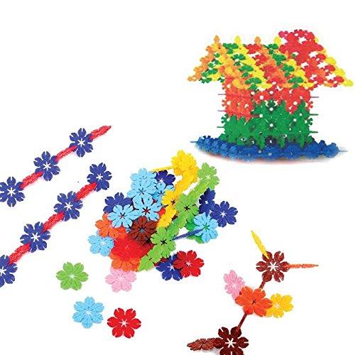Dazzling Toys Snowflake Building Block Set