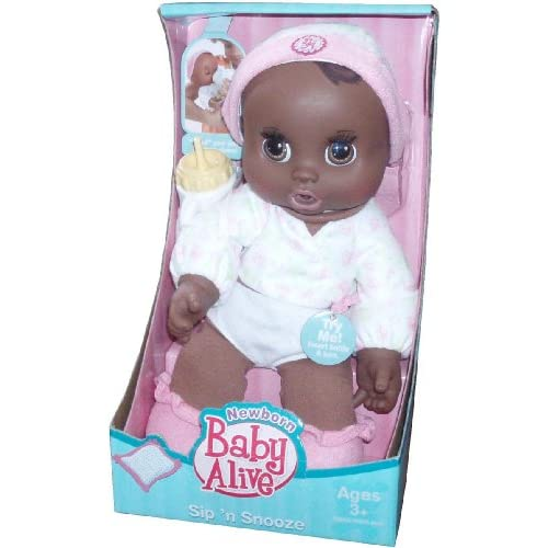 Baby Alive Newborn Series Sip N Snooze 11 Inch Doll With