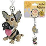 Little Paws German Shepherd Key Ring / Bag Charm