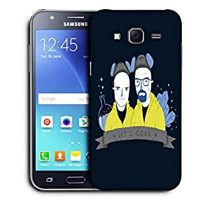 Snoogg Lets Cook Designer Protective Back Case Cover For SAMSUNG GALAXY J5