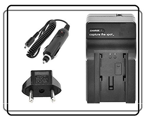 BlueTech Rapid Travel Charger For NP-FW50 Battery Pack with Sony Alpha a7II a7IIK a7RII a7 a7R 7S a7S a6000 a5100 a5000 a3000 NEX-7 NEX-6 6/B 6L/B B2BDL NEX-5 5N 5T 5TL 5TL/S 5TL/W 5R/B 5RK/B NEX-3 C3 F3K/B F3K/S 3K 3NL/B 3NL/W Mirrorless - SLT A33 A35 A37 A55 A56 A580 SLR Cyber-shot DSC-RX10 II Cybershot DSCRX10/B Digital Camera (110/220v with Car & EU adapt  available at amazon for Rs.1749