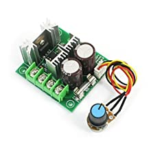 DC12-40V Rotary Potentiometer PWM Motor Driver Speed Controller Module
