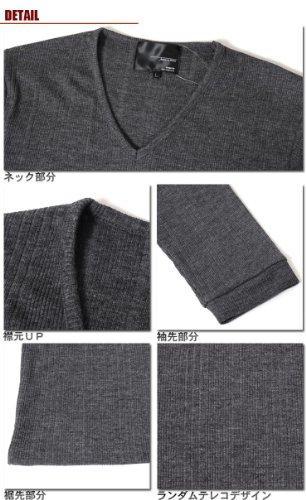 (スペイド) SPADE Tシャツ メンズ 無地 七分袖 半袖 カットソー Vネック【q424】