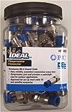 Ideal 89-055 RG-6 Compression Connectors (50) pack