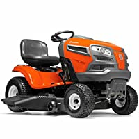 "Husqvarna 960430212 YTA22V46 22V Fast Continuously Variable Transmission Tractor Mower, 46""/Twin from Husqvarna"