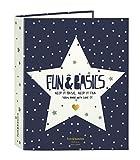 Fun&Basics - Carpeta folio, 4 anillas, lomo ancho (Safta 5 11528 657)