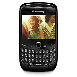 BlackBerry 8520 Gemini Smartphone Quadri-bande GPRS EDGE Bluetooth Noir