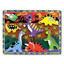 Melissa & Doug 3747 Dinosaur Chunky Puzzle