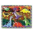 Melissa & Doug - 3747 - Puzzle - Encastrement 3D - Dinosaures