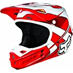 2013 Fox V1 Race Motocross Helmets - Red - Medium