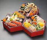 【Amazon.co.jp 限定】 京菜味のむら おせち「華」三段重 32品 (予約券・12月30日着限定)