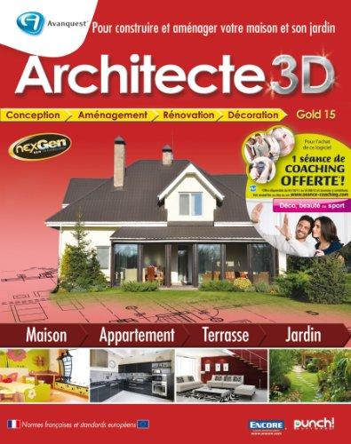 Architecte 3D gold 15