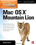Dwight Spivey How to Do Everything Mac OS X Mountain Lion