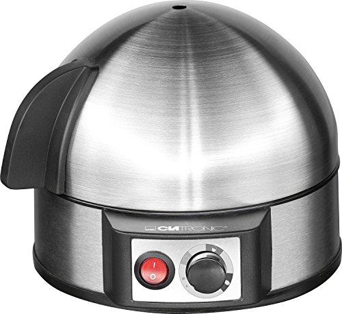 263 118 EK 3321 Eierkocher mit Härtegradeinstellung (7 Eier) 400 Watt inox