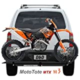 Mototote Motorcycle Dirt Bike Carrier Hitch Hauler Rack Ramp Mtx3