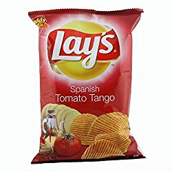 Lays Potato Chips - Spanish Tomato Tango, 52g Pouch
