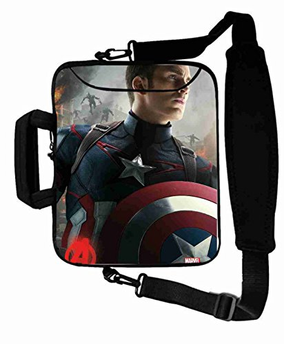 "Protection Customized Series the avengers movie Laptop Bag Suitalbe Men's (10 Inch) For 9.7""iPad Air 2-iPad 1 2 3 4 5-Samsung Galaxy Tab 3 S T700-Note 10.1-Tab PRO-Google Nexus 10 - CB-10-5634"
