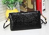 Vovotrade® HOT SALE!!!Women Leather Messenger Crossbody Clutch Shoulder Handbag (Black)
