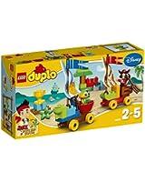 Lego Duplo Jake - Licence - 10539 - Jeu De Construction - La Course Du Capitaine Crochet