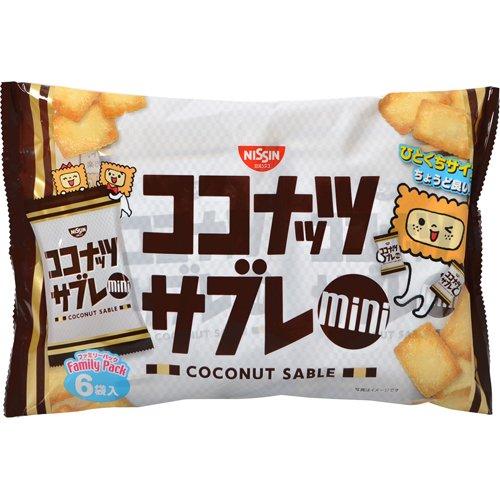 日清シスコ ココナッツサブレ ファミリーパック 30g×6袋 フード お菓子 焼き菓子 [並行輸入品]