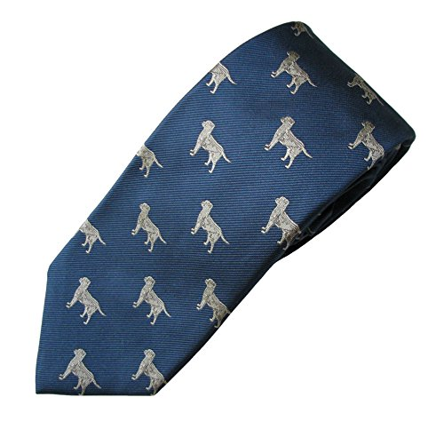 Labrador (Yellow) Tie (Men's Dog Breed Neck Tie)