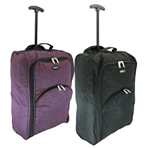 Ryanair Hand Luggage Travel Holdall Bags Wheeled Suitcase Cabin Baggage Set