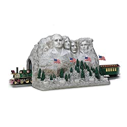 The Mount Rushmore Tunnel Masterpiece Train Accessory By Hawthorne Village