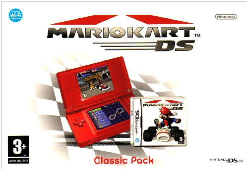 Nintendo DS Lite Console (Red) with Mario Kart Bundle (Nintendo DS)