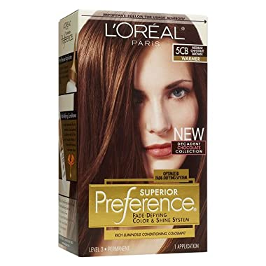 L'Oreal Preference Hair Color - Dark Mahogany Brown 4M$7.99$7.99