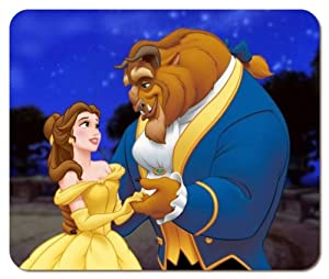 Beauty and the Beast #2 Large Mousepad Mouse Pads Mat