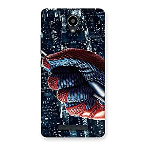 Rope Spider Back Case Cover for Redmi Note 2