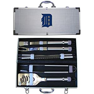 MLB Detroit Tigers 8 Piece BBQ Set by SISKIYOU