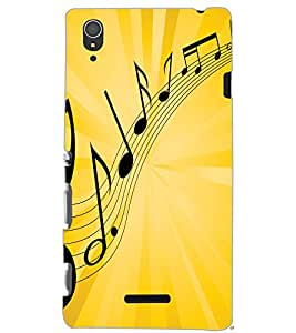 SONY XPERIA T3 MUSIC Back Cover by PRINTSWAG