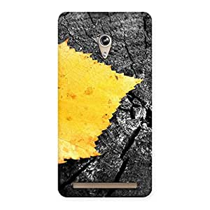 Impressive Leaf Lone Back Case Cover for Zenfone 6