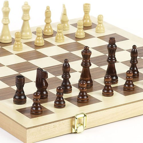 "Union Square Park Giant Folding Chess Set. King: 3 3/8"" at Amazon.com"