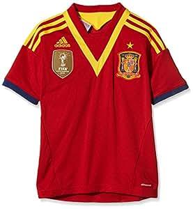 Spain Boys Home Football Shirt 2013