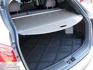 trunk cargo cover shield for honda crv 2012 2013 2014 2015 2016 in grey automotive. Black Bedroom Furniture Sets. Home Design Ideas