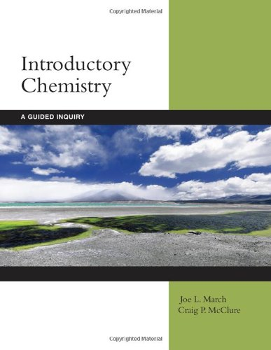 Introductory Chemistry: A Guided Inquiry