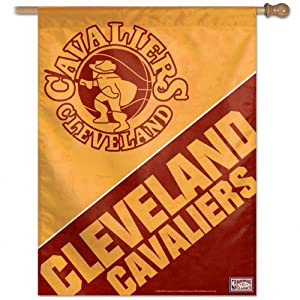 NBA Cleveland Cavaliers 27-by-37-Inch Vertical Flag-Hardwood Classics Retro by WinCraft