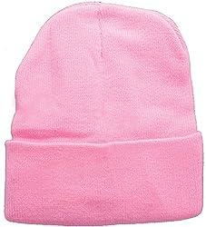 True Gear Cold Weather Beanie Pink Ski Cap
