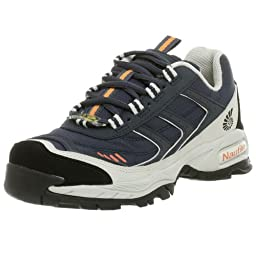 Nautilus Women\'s N1376 Steel Toe Athletic Shoe,Blue,5.5 W