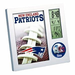 Amazon Com Nfl New England Patriots Digital Desk Clock