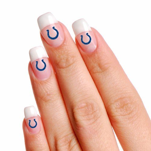 Indianapolis Colts 4-Pack Temporary Nail Tattoos